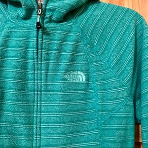 NORTH FACE Women's Polartec Zip-Up Fleece Hoodie